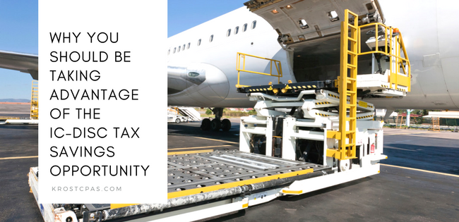 IC-DISC Export Tax Incentive - Los Angeles CPA