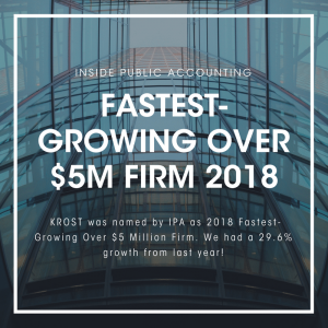 2018 Fastest-Growing Over $5 Million Firm