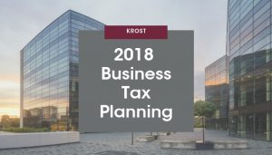 2018 Business Tax Planning