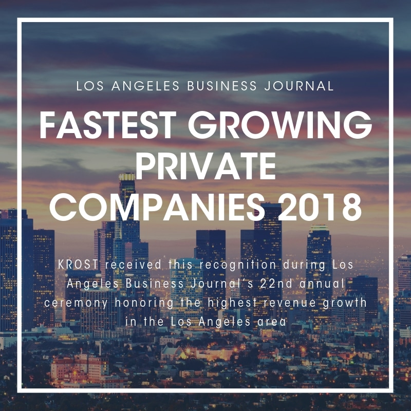 LABJ Fastest Growing Private Companies 2018
