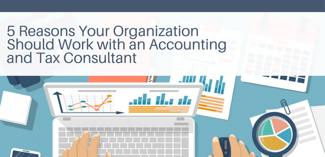 5 Reasons Your Organization Should Work with an Accounting and Tax Consultant