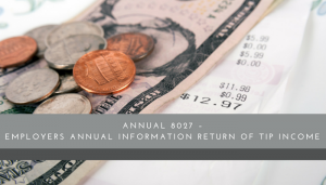 Tip Income Return - Restaurant Consultants