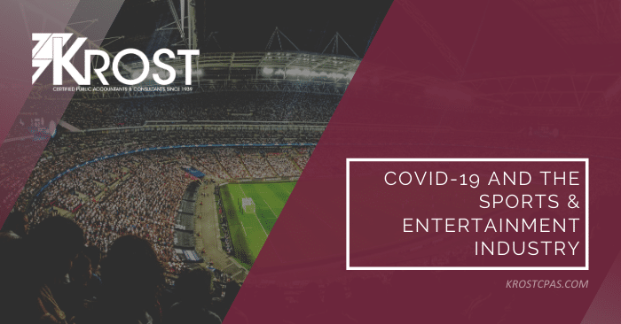 COVID-19 and the Sports & Entertainment Industry