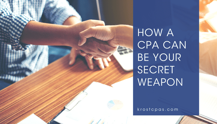How a CPA Can Be Your Secret Weapon