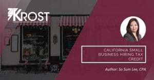 California Small Business Hiring Tax Credit | Blog