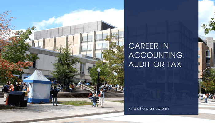 Career in Accounting: Audit or Tax