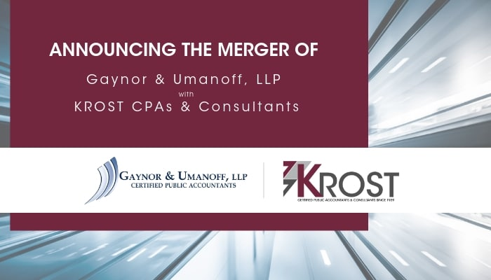 KROST Kicks Off the Year by Announcing Merger with West LA Firm Gaynor & Umanoff