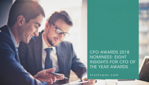 CFO Awards 2018 Nominees: Eight Insights for CFO of the Year Awards