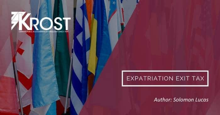 Expatriation Exit Tax