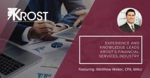 Experience and Knowledge Leads KROST's Financial Services Industry | Blog
