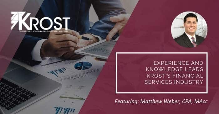 Experience and Knowledge Leads KROST's Financial Services Industry