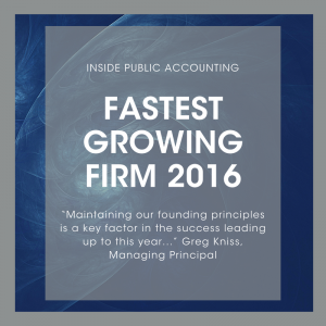 Fastest Growing Firm - Pasadena CPA