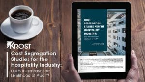 Cost Segregation Studies for the Hospitality Industry: Does it Increase the Likelihood of Audit?