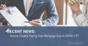 • Having Trouble Paying Your Mortgage Due To COVID-19?
