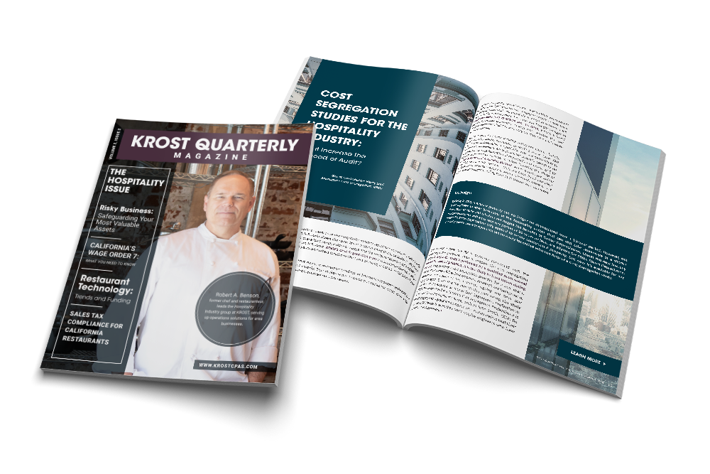 KROST Quarterly Hospitality Issue