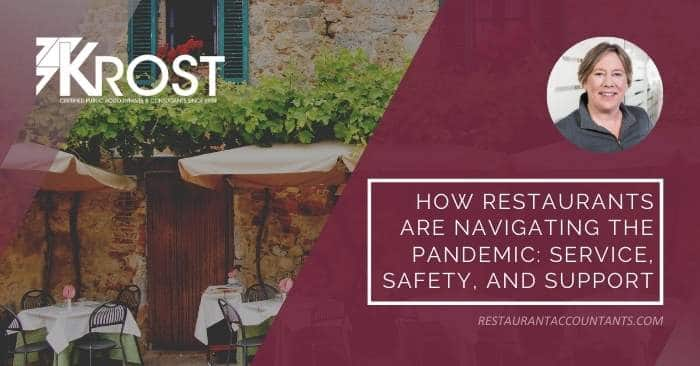 How Restaurants are Navigating the Pandemic: Service, Safety, and Support