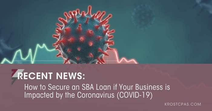 [UPDATED] How to Secure an SBA Loan if Your Business is Impacted by the Coronavirus (COVID-19)