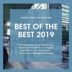 2019 IPA Best of the Best