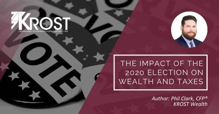 The Impact of the 2020 Election on Wealth and Taxes