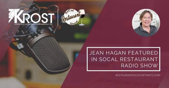 Jean Hagan Featured on the SoCal Restaurant Radio Show