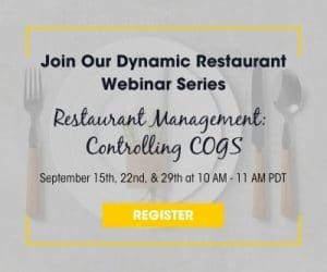 Restaurant Webinar Series Graphic