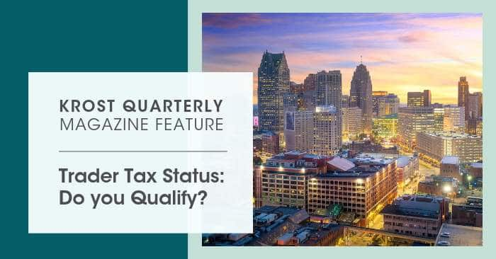 Trader Tax Status: Do You Qualify?
