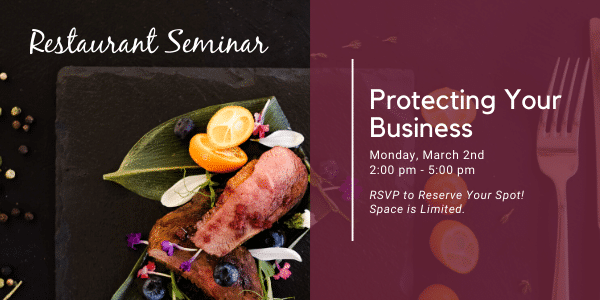 KROST Restaurant Seminar: Protecting Your Business