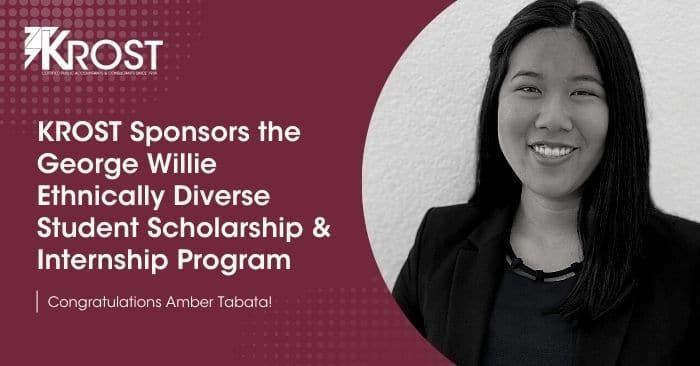 KROST Sponsors the George Willie Ethnically Diverse Student Scholarship & Internship Program
