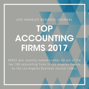 2017 Top Accounting Firms - Los Angeles CPA