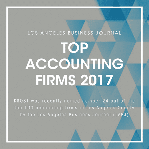 LABJ Top Accounting Firms 2017