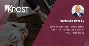 M&A Exit Planning Webinar Replay