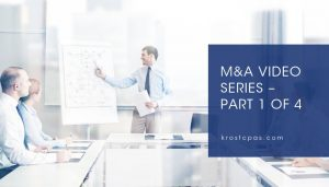 M&A Video Series – Part 1 of 4