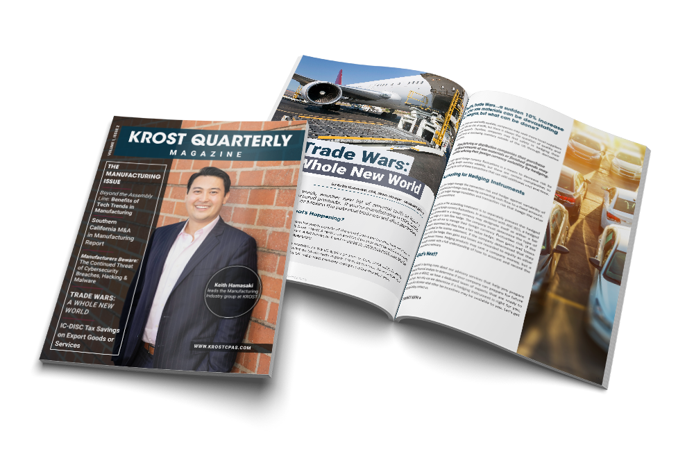 KROST Quarterly Manufacturing Issue