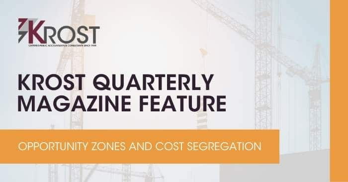 Opportunity Zones and Cost Segregation