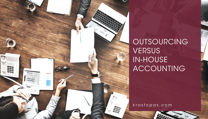 Outsourcing Versus In-House Accounting