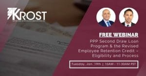 PPP Second Draw Loan Program & the Revised Employee Retention Credit – Eligibility and Process | Blog