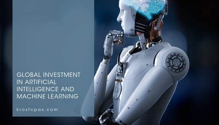Global Investment in Artificial Intelligence and Machine Learning