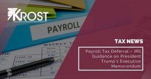 Payroll Tax Deferral | Blog