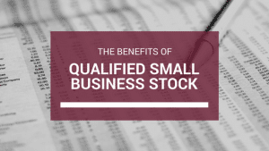 Qualified Small Business Stock - Los Angeles CPA