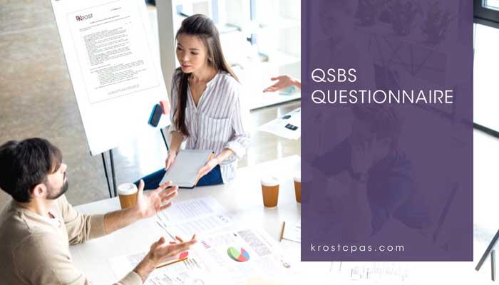 QSBS Questionnaire