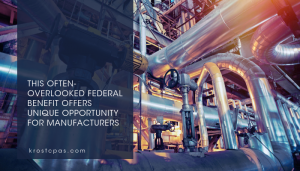 This Often-Overlooked Federal Benefit Offers Unique Opportunity for Manufacturers