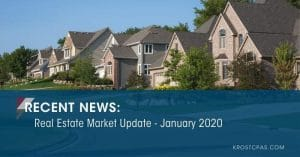 Real Estate Market Update - January 2020