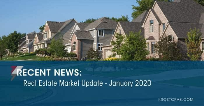 Real Estate Market Update – January 2020