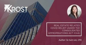 Real Estate Related COVID Relief Under the Consolidated Appropriations Act (CAA) | Blog