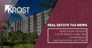Real Estate Related COVID Relief Under the Consolidated Appropriations Act (CAA)   Blog