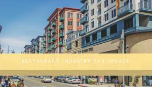 Industry Tax Update - Restaurant CPA