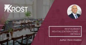 Restaurant Revitalization Fund – Details   Blog