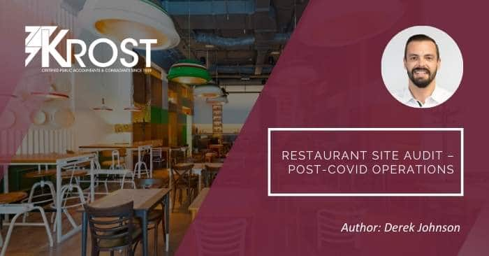 Restaurant Site Audit – Post-COVID Operations