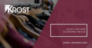 Sales Tax and Economic Nexus | Blog