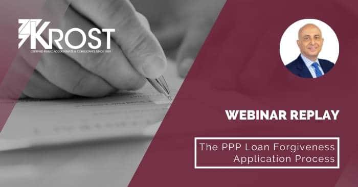 [Webinar Replay] The PPP Loan Forgiveness Application Process